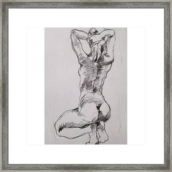 Figure Framed Print