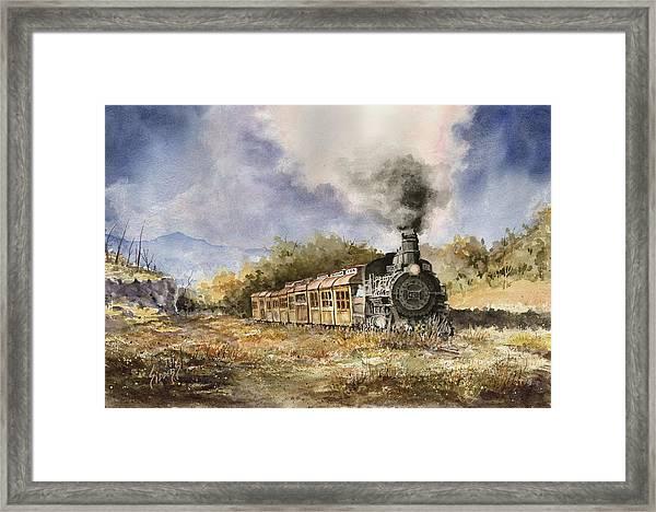 481 From Durango Framed Print
