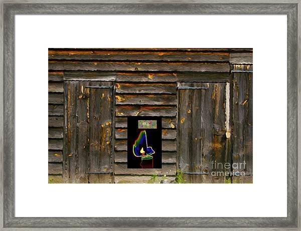 5-22-3057p Framed Print