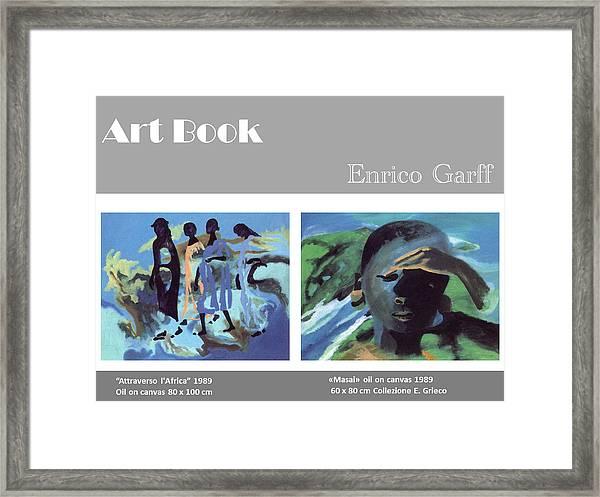 Art Book Framed Print