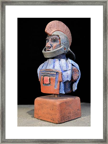 Roman Legionaire - Warrior - Ancient Rome - Roemer - Romeinen - Antichi Romani - Romains - Romarere  Framed Print