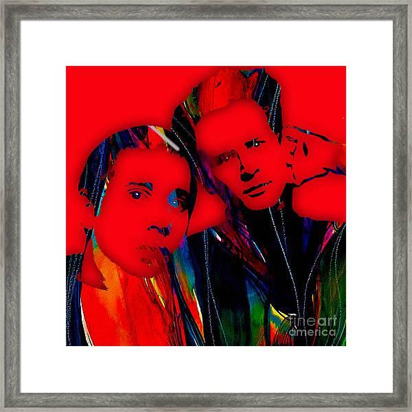 Simon And Garfunkel Collection Framed Print