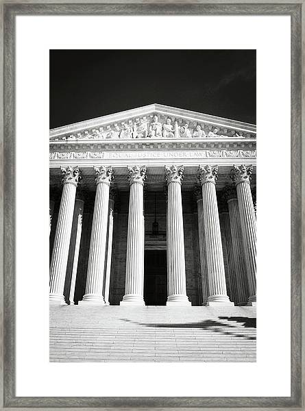 Supreme Court Of The United States Of America Framed Print