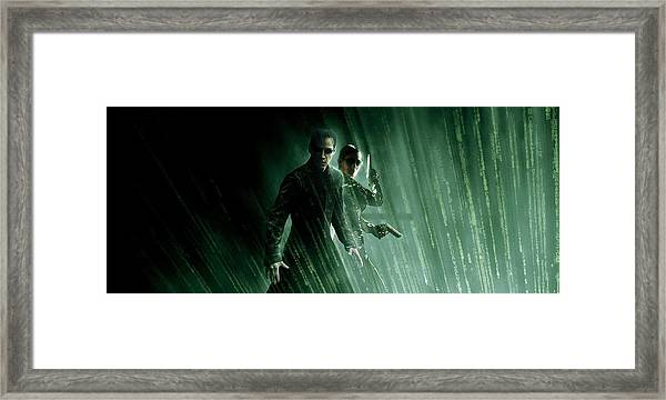 The Matrix 1999  Framed Print