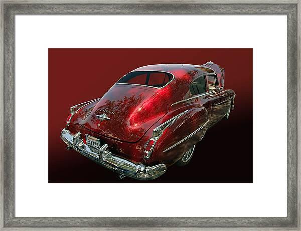 50 Olds Fastback Framed Print