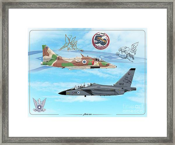 50 Years To The Tigers Framed Print