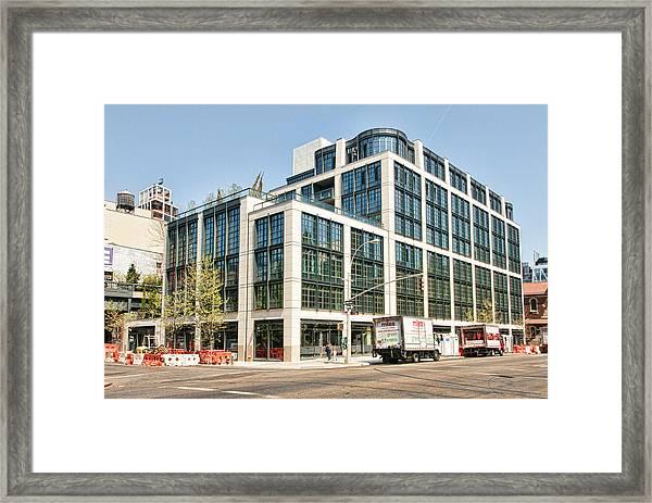 500 W 21st Street 4 Framed Print