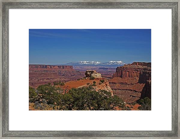 Canyonlands National Park Framed Print