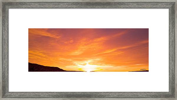 555 Am Framed Print