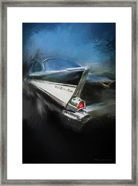 57' Belair Framed Print