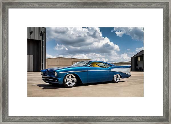 '57 Chevy Custom Framed Print