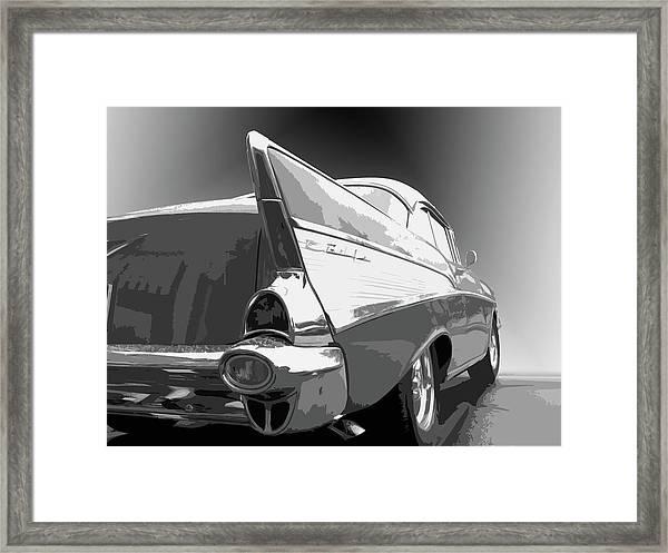 57 Chevy Horizontal Framed Print