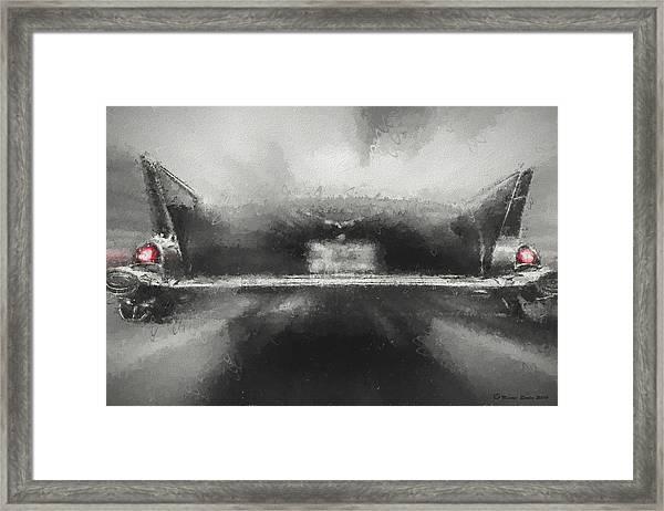 57' Chevy Mood Framed Print