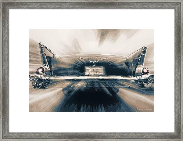 57' Speed Dream Framed Print