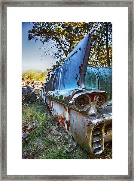 58 Cadilac Framed Print