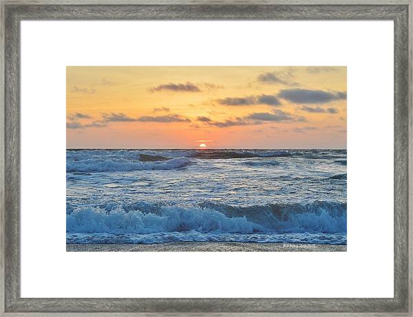 6/26 Obx Sunrise Framed Print