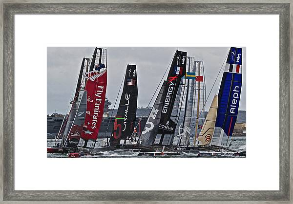 America's Cup World Series Framed Print