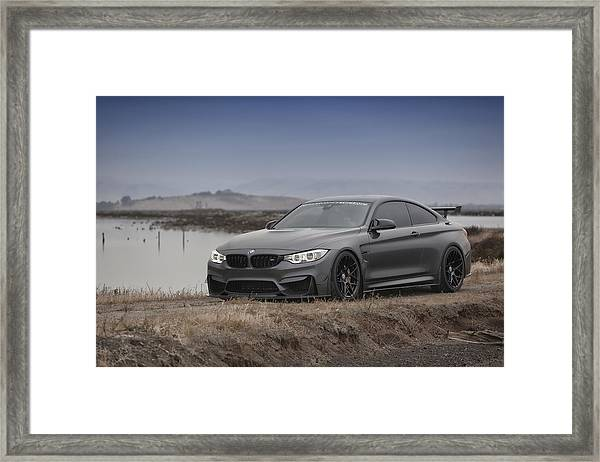 Bmw M4 Framed Print