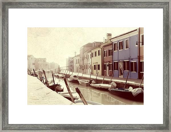 Burano Framed Print