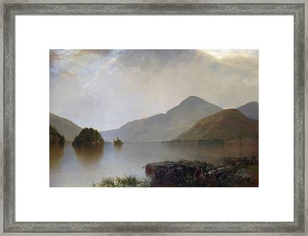 Lake George Framed Print