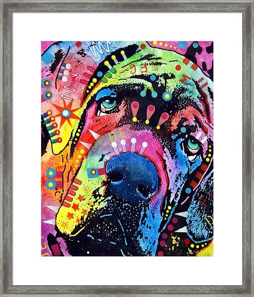 Neo Mastiff Framed Print