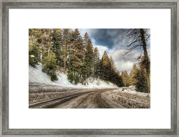 6000 Feet Framed Print