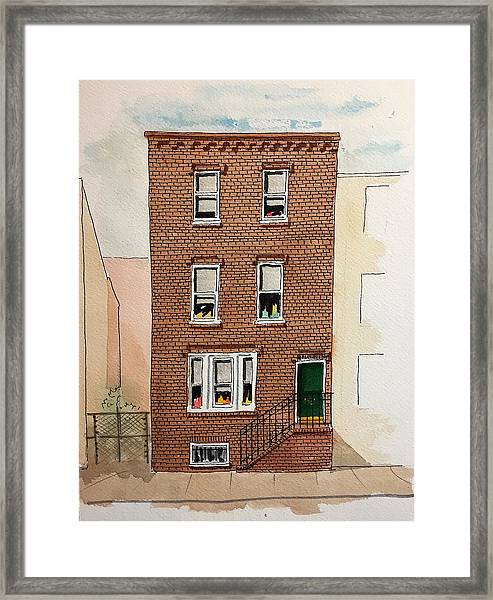 615 South Delhi St. Framed Print