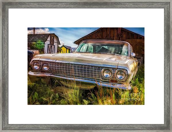 63 Impala Framed Print