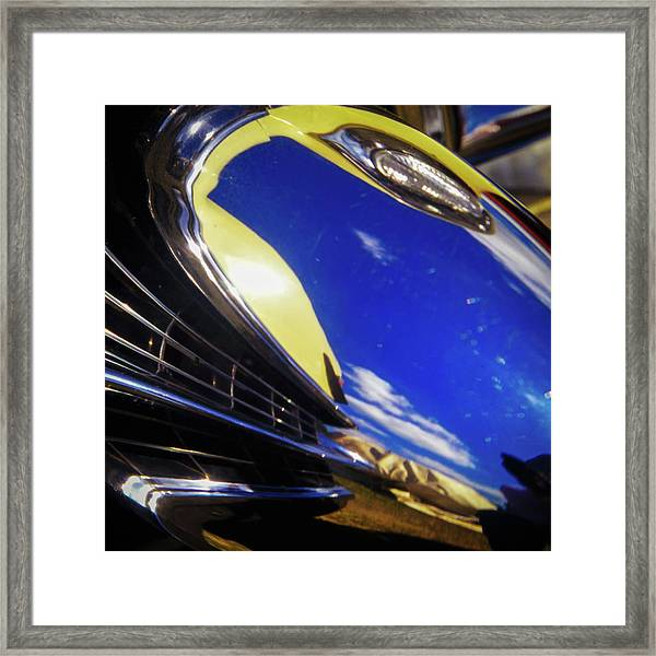 Framed Print featuring the photograph '65 Cadillac Abstract by Samuel M Purvis III