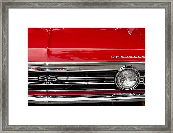 65 Chevelle Framed Print