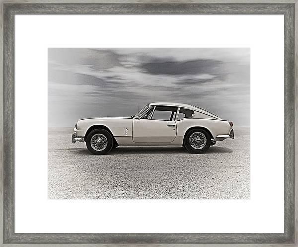'67 Triumph Gt6 Framed Print