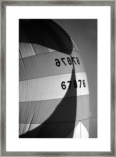 Spinaker Shadow Framed Print