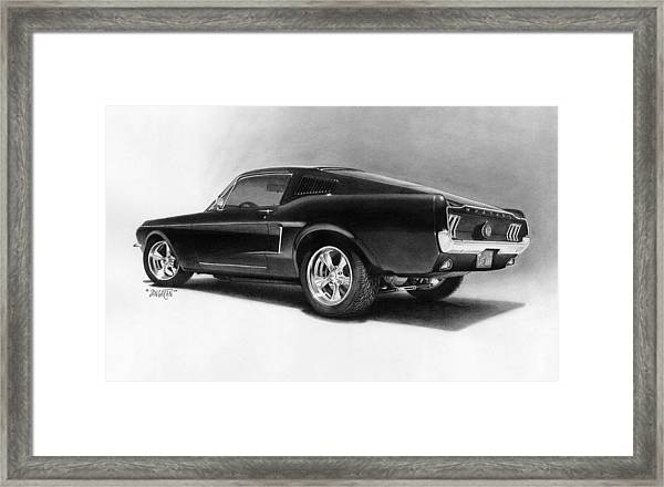 '68 Fast Back Framed Print