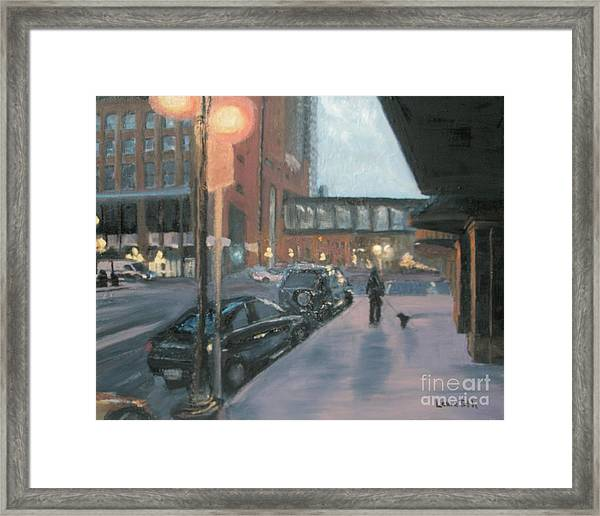 6th And Sibley Framed Print