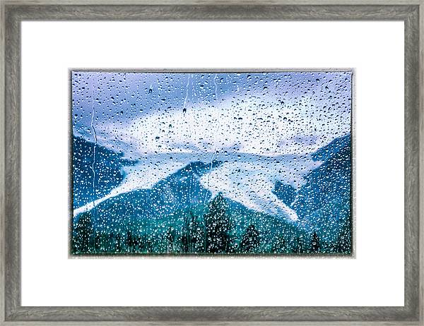 Framed Print featuring the photograph 7,000 Miles From Home by Claudia Abbott