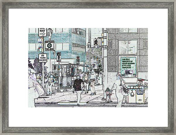 7987 Framed Print by Jim Simms