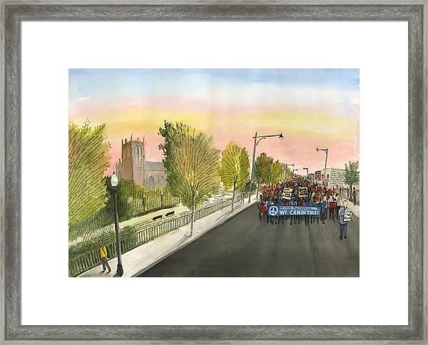 79th Street Matters Framed Print