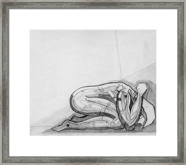 87 - 11 Detail Framed Print