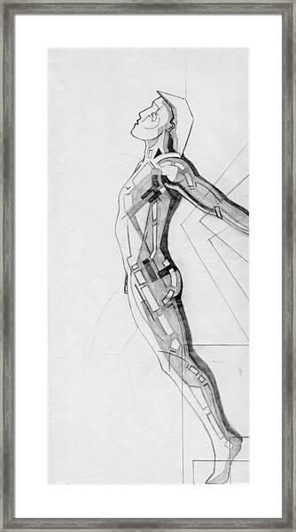 87 - 14 Detail Framed Print