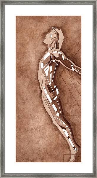 87 - 15 Detail Framed Print