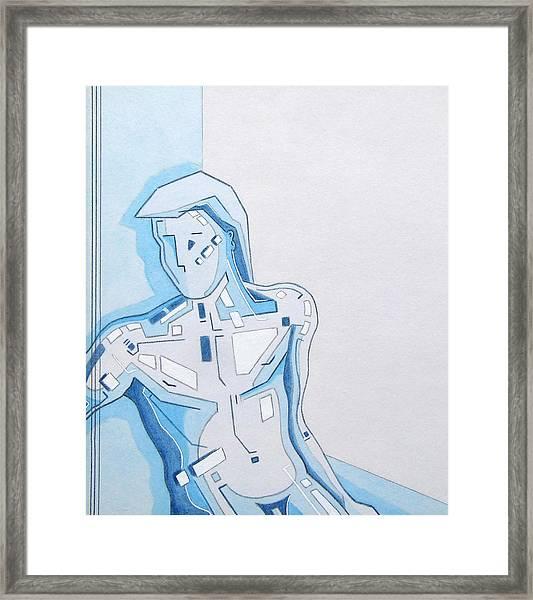 87 - 3 Detail Framed Print
