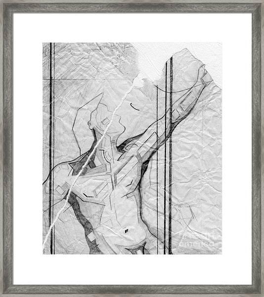87 - 4 Detail Framed Print
