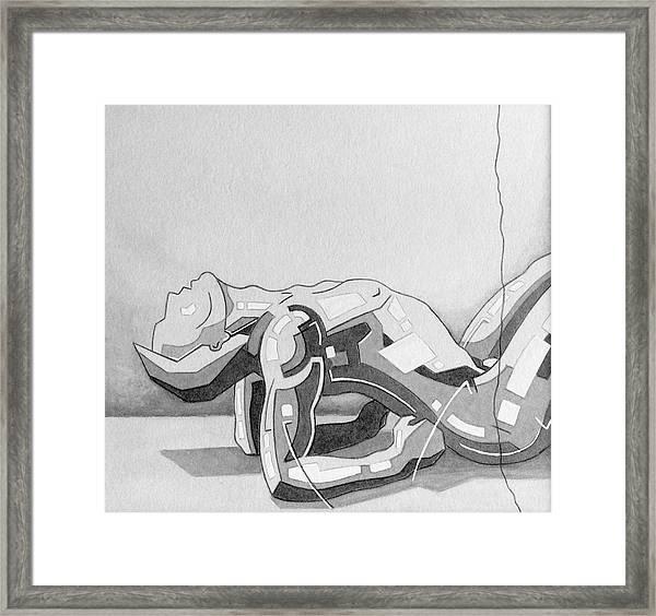 87 - 6 Detail Framed Print