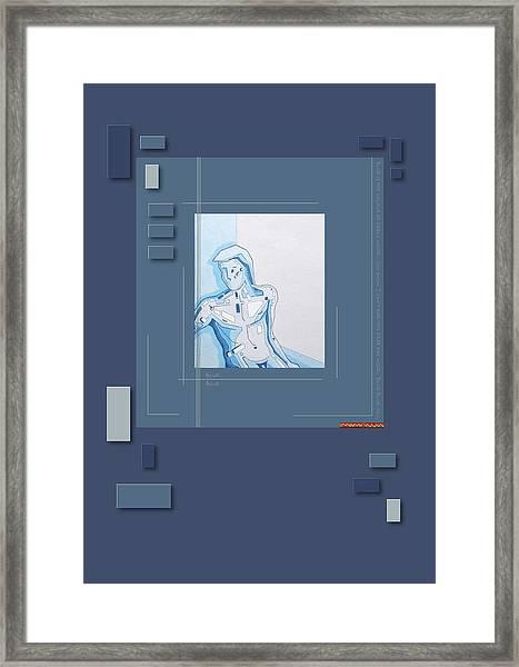 87_3 Framed Print