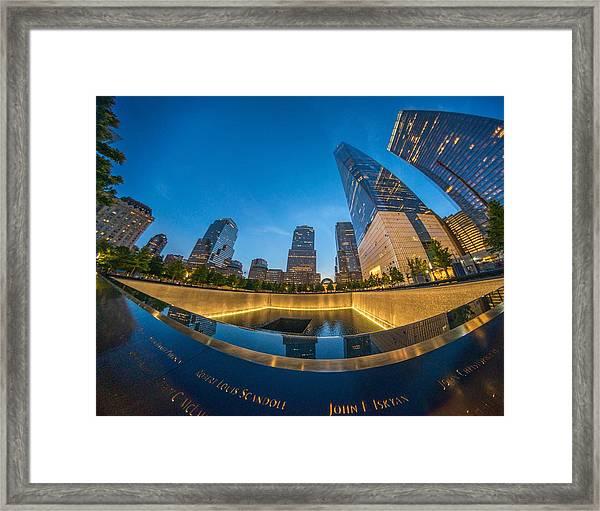 9/11 Memorial Framed Print
