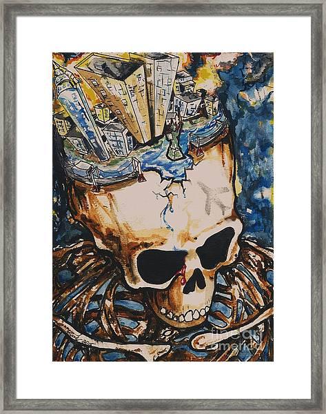 9/11 Framed Print