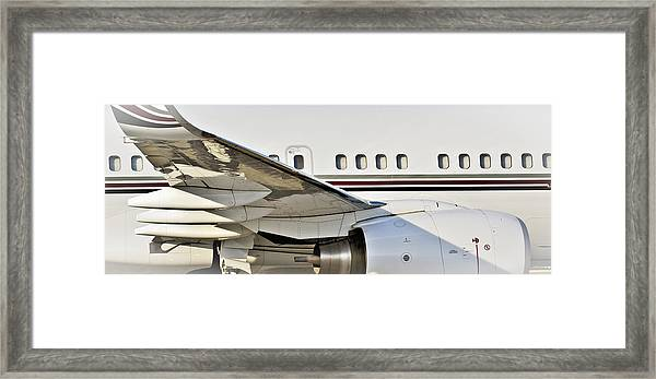 Aircratft Untitled Framed Print