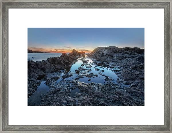 El Golfo - Lanzarote Framed Print