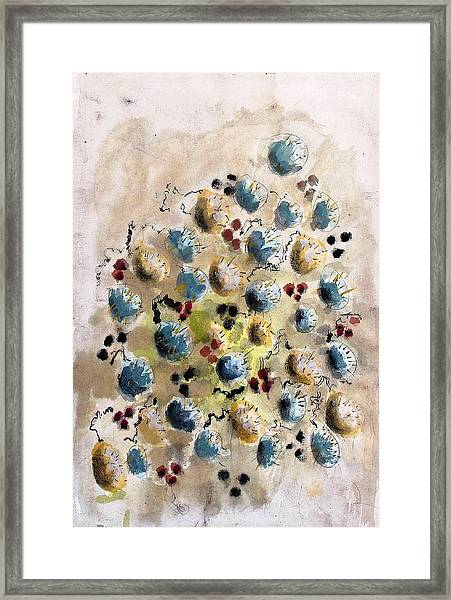 Field Nuts Framed Print by Thomas Armstrong