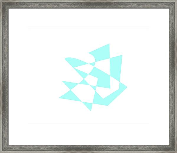 A Baby Boy Framed Print